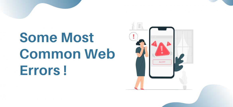 common web errors