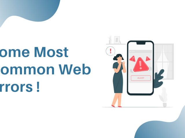 common web errors